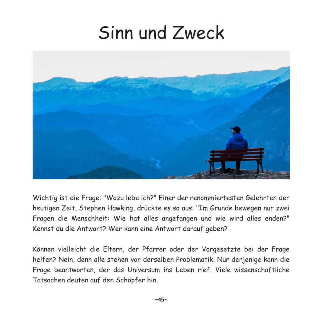 Seite 45 von Buch: Darf Evolution in Frage gestellt werden?