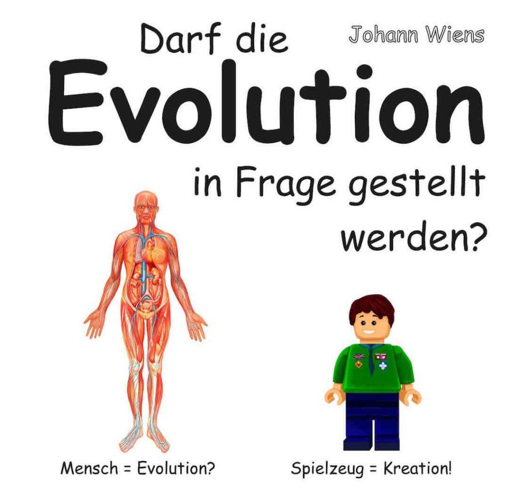 Titelbild von Buch: Darf Evolution in Frage gestellt werden?