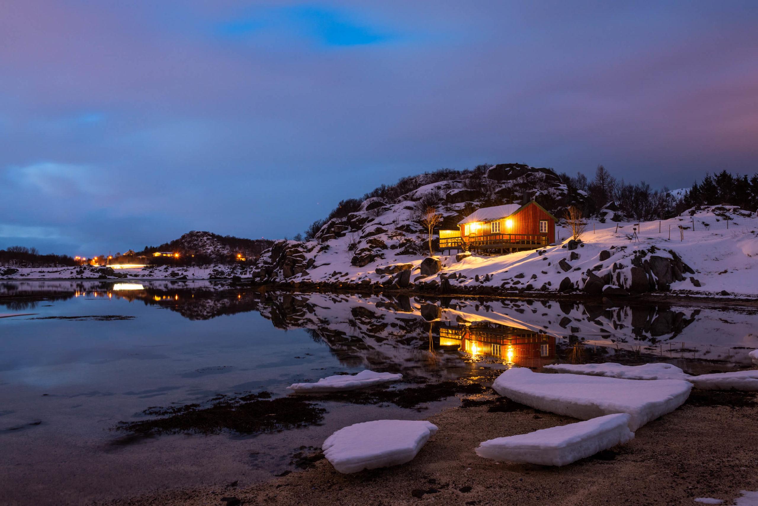 Zurück in Norwegen